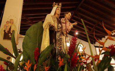 Pueblo de Araira rinde honores a la Virgen del Carmen