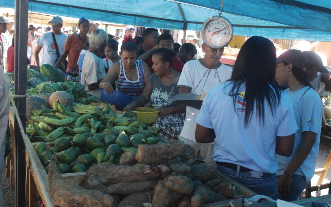 Mercado a cielo abierto benefició a 700 familias de Panaquire