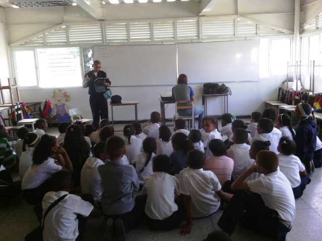 Estudiantes de Caucagua aprenden sobre el Plan de Emergencias de su localidad