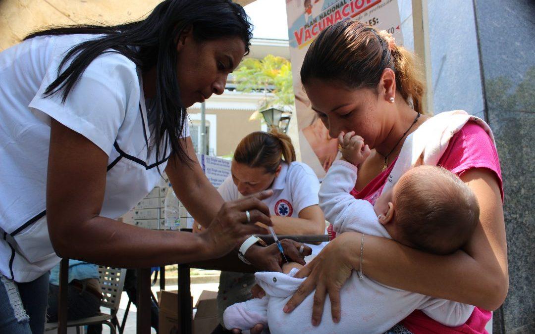 Plan de Vacunación nacional se activa en Carrizal