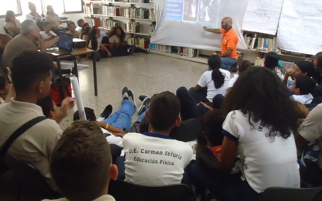 Gobernación de Miranda impartió charla de ecología y turismo