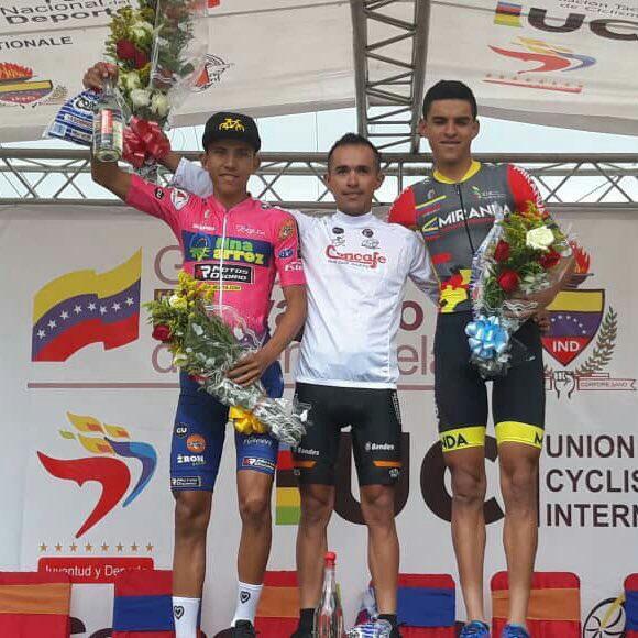 Miranda logra tercer lugar en segunda etapa de Vuelta al Táchira