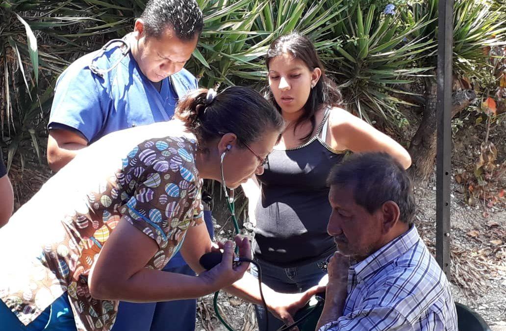 Desplegado abordaje médico asistencial en Baruta