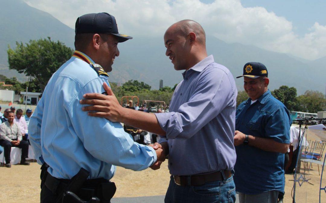 Reconocidos funcionarios de seguridad y paz ciudadana de Miranda