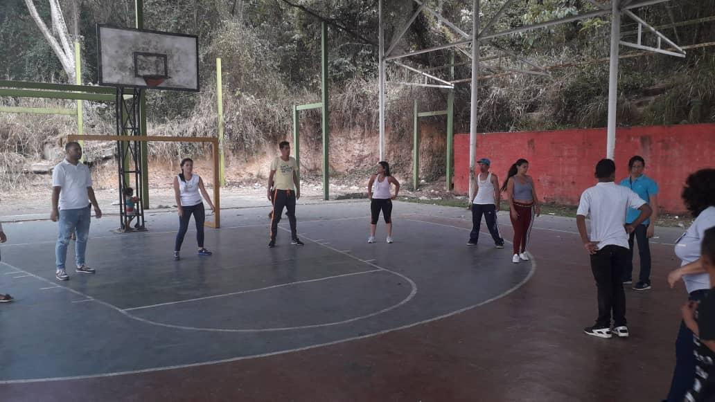 Comunidades mirandinas participaron en actividades recreativas y deportivas