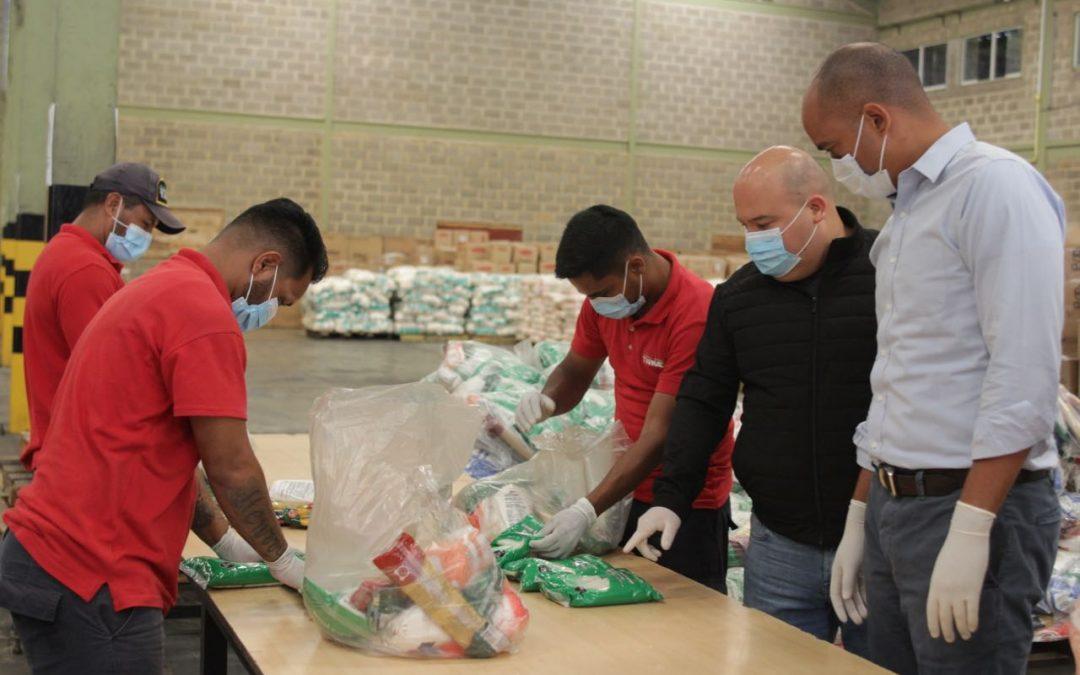 Gobernador Héctor Rodríguez supervisó distribución de alimentos a familias mirandinas