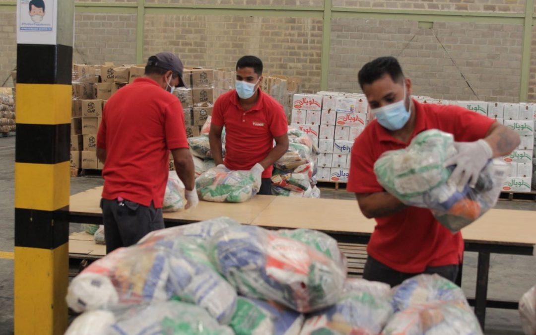 Más de 12 mil toneladas de alimentos se han distribuido en Miranda durante cuarentena