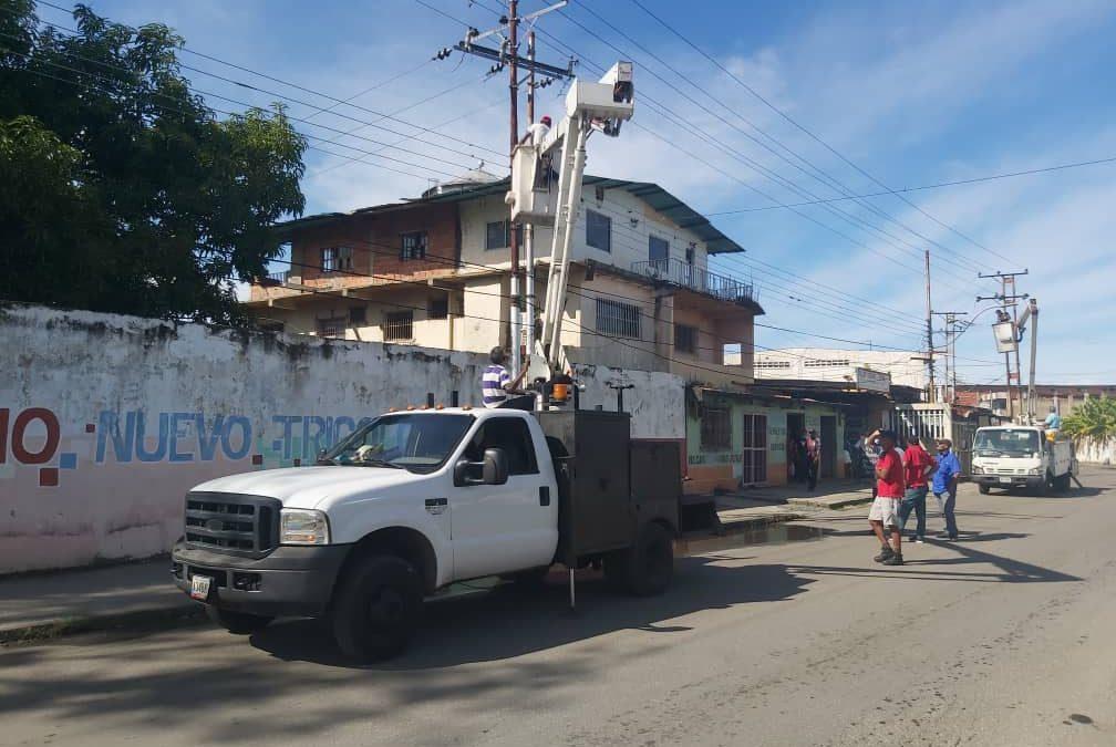 Mejoran alumbrado público en municipios Andrés Bello y Páez