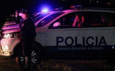 Entregan 121 nuevas patrullas a la Policía de Miranda