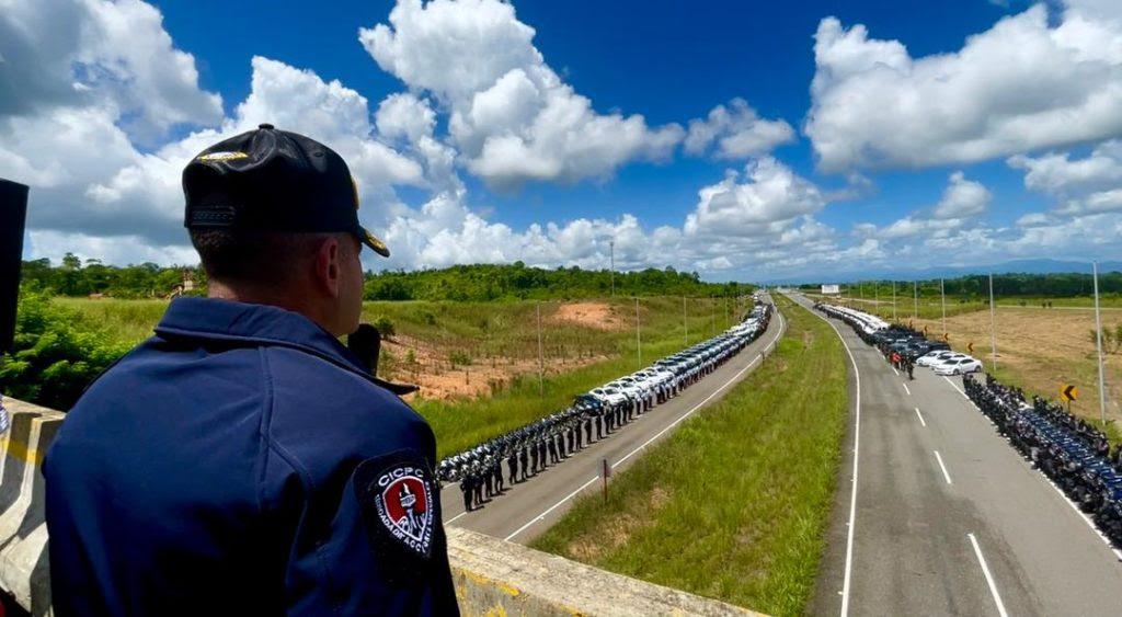 Desplegados más de 650 funcionarios para combatir delincuencia en Miranda